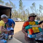 ifas staff volunteering after hurricane michael